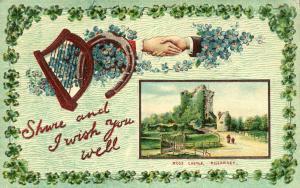St Patricks Day Greetings - Ross Castle Killarney, Ireland - pm 1910 Marion NY