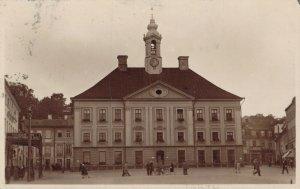 Estonia Tartu Raekoda RPPC - 1932 - 04.17