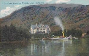 Scotland Loch Katrine Stronachlacher Hotel 1905