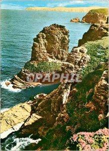 Postcard Modern Cap Frehel North Cotes The Fauconniere