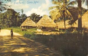 Sierra Leone, Freetown, Mende Village 1963