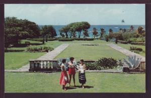 Sam Lords Grounds St Philip Barbados Postcard 3717