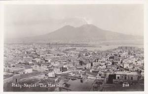 RP; Naples, the harbour , Italy , 20-30s