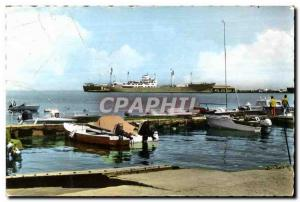 Old Postcard Djibouti General view of the port Cote des Somalis