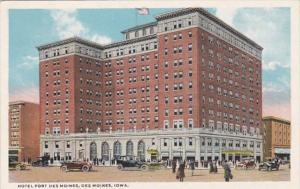 Iowa Des Moines Hotel Fort Des Moines Curteich