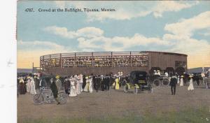TIJUANA, Mexico, 1900-1910's; Crowd At The Bullfight