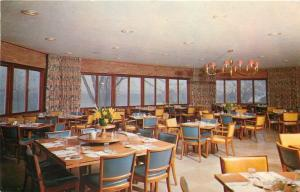 Aurora New York~Aurora Inn~Memorial Dining Room~1963 Postcard