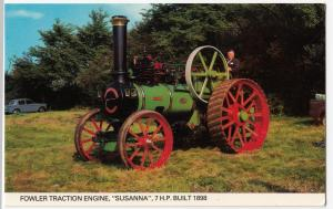 Steam; Fowler Traction Engine, 'Susanna' , Built 1898 PPC, Colourmaster, Unused