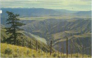 A View of Part of the Fraser River Valley British Columbia B