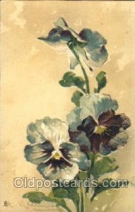 Raphael & Tuck No. 6707 Artist Signed Catherine Klein Unused