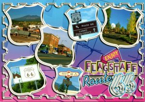 Arizona Flagstaff Route 66 Multi View
