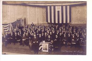 Real Photo, Governor Hughes, Johnstown, New York October 2, 1908