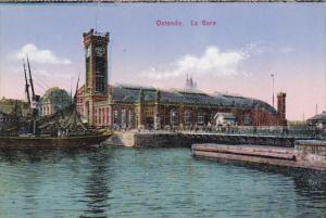Belgium Ostende La Gare