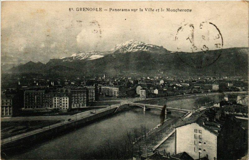 CPA GRENOBLE - Panorama sur la Ville et le MOUCHEROTTE (273118)