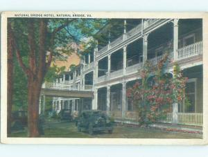 W-Border HOTEL SCENE Natural Bridge - Near Lexington Virginia VA H1276