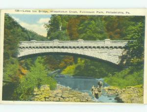 W-Border BRIDGE SCENE Philadelphia Pennsylvania PA HJ1286