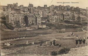 France Postcard Onival(Somme) panorama
