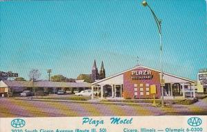 Illinois Cicero The Plaza Motel and Restaurant