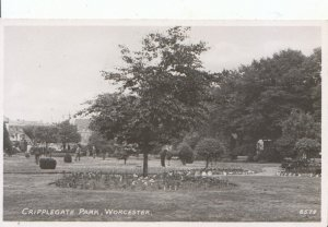 Worcestershire Postcard - Cripplegate Park - Worcester - Real Photo - Ref 3077A
