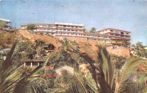 Hotel Del Monte Acapulco Mexico Tarjeta Postal 1958