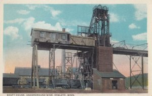 Mines; Shaft House , Underground Mine , EVELTH , Minnesota , 1910s