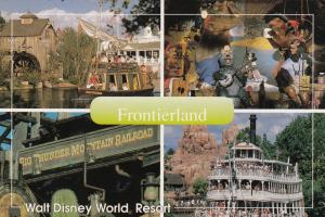 WaltDisneyworld , Orlando , Florida , 70-80s ; Frontierland