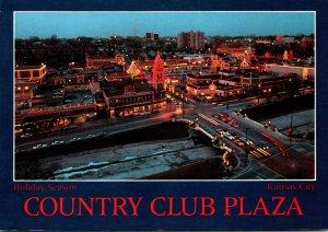 Missouri Kansas City Country Club Plaza During Holiday Season