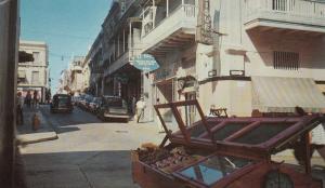 Typical Street Scene, San Juan, Puerto Rico, PU-1964