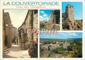 Postcard Modern Couvertoirade Cite Templar