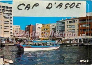 Postcard Modern Languedoc Cap d'Agde Boat ride