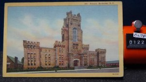 STD Vintage Armory Rochester New York Posted 1951 Lewiston Linen