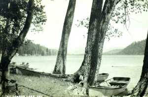 1910-20's RPPC Donner Lake, Lake Tahoe Area, CA Real Photo Postcard P51