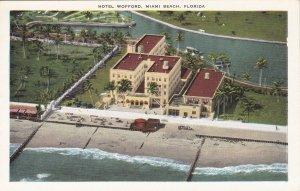 Florida Miami Beach Hotel Wofford Aerial View sk429