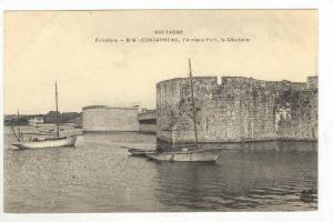 Bretagne, l'Arriere-Port, La Citadelle, Concarneau (Finistere), France, 1900-...
