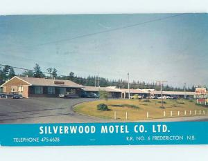 Pre-1980 SILVERWOOD MOTEL & RESTAURANT Fredericton New Brunswick NB o0702