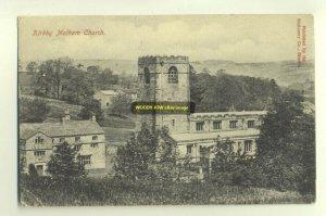 cu0555 - Kirkby Malham Church , Yorkshire - postcard