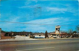 Rockingham North Carolina~Sandman Motel Inc~1960 Postcard