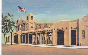 US Post Office and Federal Building, Santa Fe, New Mexico, 1930-40s