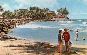 Surf Swept Bay Mount Lavinia Ceylon, Ceylan Unused