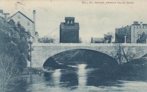 FERGUS FALLS, Minnesota, 1900-1910s; Mill St. Bridge