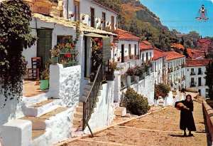 Subida a Gibralfaro Malaga Spain 1964