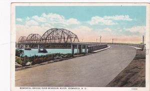 BISMARCK, North Dakota, 10-20s; Memorial Bridge Over Missouri River