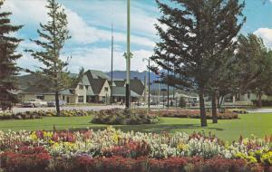 Jasper Village Gardens,  Administration Building Ground,  Jasper Park,  Alber...