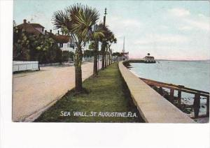 Florida St Augustine Sea Wall 1911