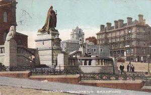 Victoria Monument, Bradford (Yorkshire), England, UK, PU-1906