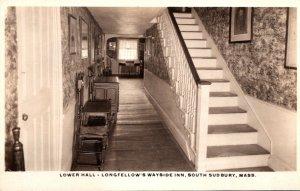 Massachusetts South Sudbury Longfellow's Wayside Inn The Lower Hall Real...
