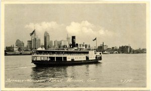 Canada - Ontario, Windsor. Detroit-Windsor Ferry