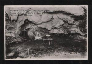 059593 HUNGARY ice-caves of Dobobsina Vintage PC