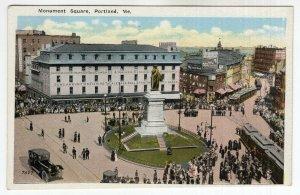 Portland, Me, Monument Square