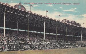 TORONTO , Ontario , Canada , 1922 ; C.N.E. Young Canada's Day